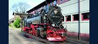 Dampflokomotive BR 99.72-73 der HSB