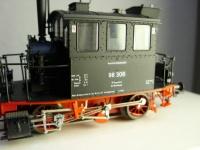 """Dampflok der BR 98.3 """"Glaskasten der DB"""