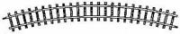 Gebogenes Gleis R 515 mm 24°