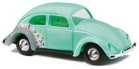 VW Käfer Brezelfenster blau