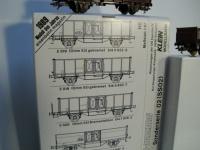 Klein Modellbahn 6er Set Rübenwagen