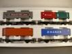 Märklin 4515 Set Containerwagen