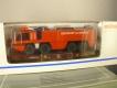 Märklin 4849 Flachwagen mit Feuerwehr